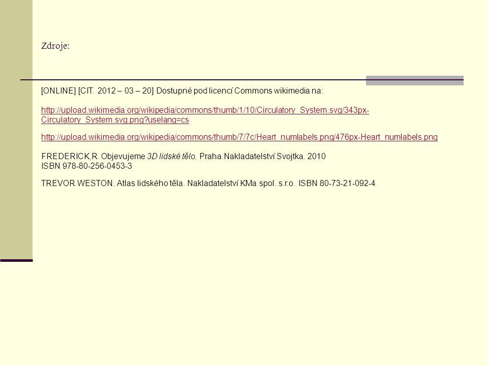 Zdroje: [ONLINE] [CIT. 2012 – 03 – 20] Dostupné pod licencí Commons wikimedia na:
